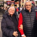 Nafisa Ali With Her Husband