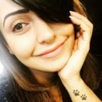 Nandini Rai left wrist tattoo