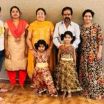 Nandini Rai with her family (left to right)- brother, sister-in-law, mother, father, Nandini