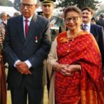 Narinder Nath Vohra With His Wife