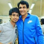 Naveen Sharma with Shiamak Davar