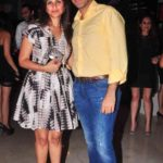 Neel Raheja With His Wife Jaya