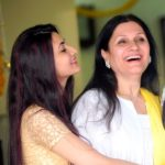 Neelam Upadhyaya With Her Mother
