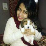 Neha Pawar Dog Lover