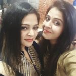 Neha Pawar with her sister