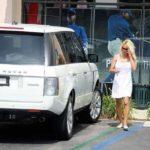 Pamela Anderson's Range Rover