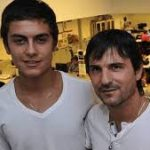 Paulo Dybala with his Brother Mariano Dybala