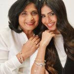 Payal Kadakia With Her Mother