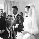 Pele getting married to Rosemeri dos Reis Cholbi