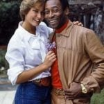 Pele with his ex-girlfriend Xuxa