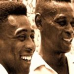 Pele with his father