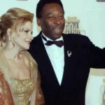 Pele with his second wife Assiria Lemos Seixas