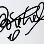 Philippe Coutinho's signature