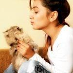 Pooja Thakur Cat Lover