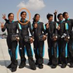 Pooja Thakur In The First Indian Women Team Of Skydiving