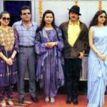 Poonam Dhillon At The Innaugration Of Her First Vanity Van