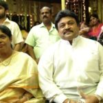 Prabhu With His Wife Punitha