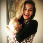 Renu Desai, a dog lover