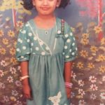 Riythvika- Childhood Picture
