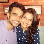 Rohit Choudhary with his wife