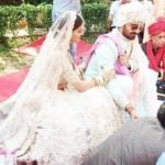 Rubina Dilaik and Abhinav Shukla marriage photo