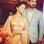 Rubina Dilaik with her husband Abhinav Shukla