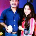 Saachi Marwah with her father