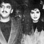 Sajid Nadiadwala with Divya Bharti in the early 1990s