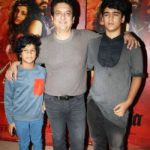 Sajid Nadiadwala with his children
