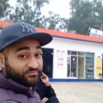Sandeep Singh At His Petrol Pump
