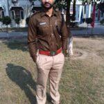 Sandeep Singh In Haryana Police
