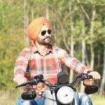 Sandeep Singh On Harley Davidson