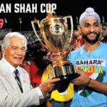 Sandeep Singh With Sultan Azlan Shah Cup in 2009