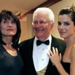 Sandra Bullock with her parents