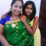 Sangeetha Balan With Her Daughter