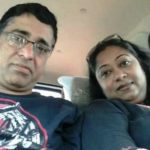 Sangeetha Balan With Her Husband