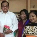 Sangeetha Balan With P Chidambaram