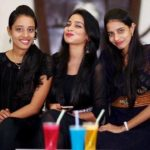 Sanjana Anne with her sisters