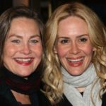 Sarah Paulson with Cherry Jones