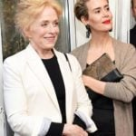 Sarah Paulson with Holland Taylor