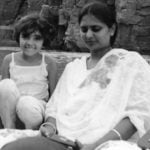 Shreya Rao Kamavarapu With Her Mother