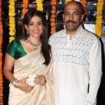 Sonali Kulkarni with her husband Nachiket Pantvaidya