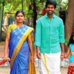 Soori With His Wife And Children