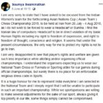 Soumya Swaminathan's Facebook Post