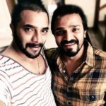 Srimurali with his brother Vijay Raghavendra
