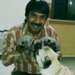 Srinivas Reddy loves dogs
