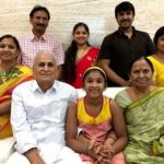 Srinivas Reddy with his family