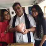 Subhash Ghai's With His Daughters