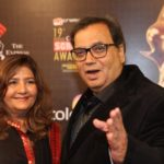 Subhash Ghai' With His Wife