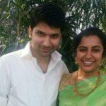 Suhasini With Her Son Nandan